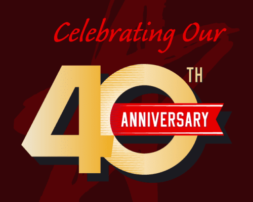 Questar III 40th Anniversary Logo