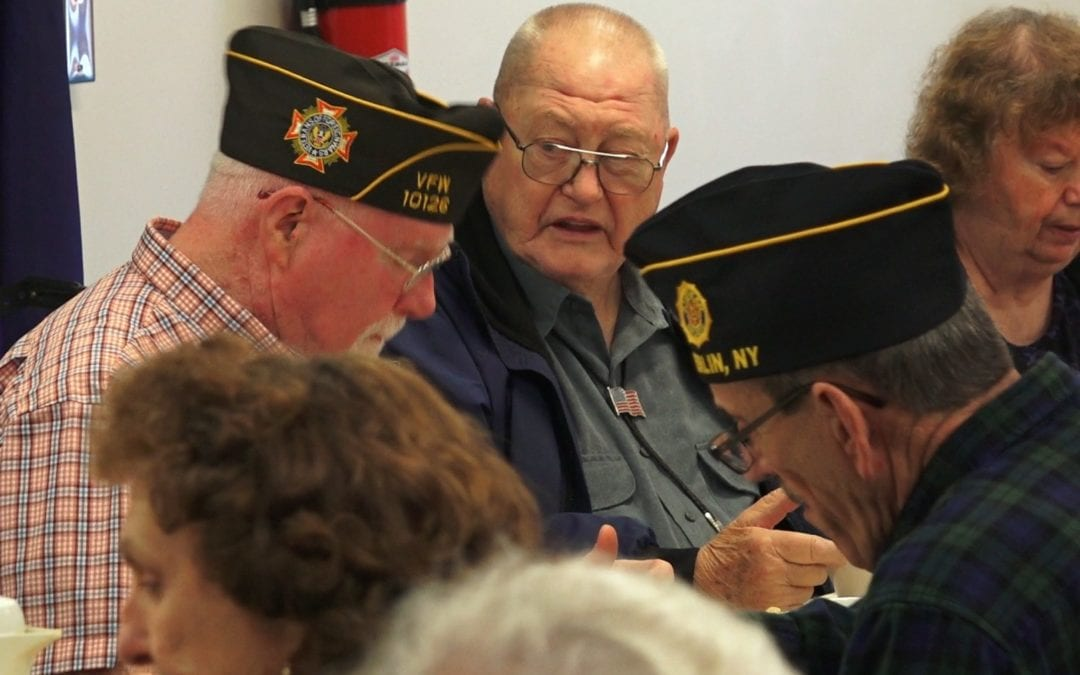 CTE students honor local veterans with annual luncheon