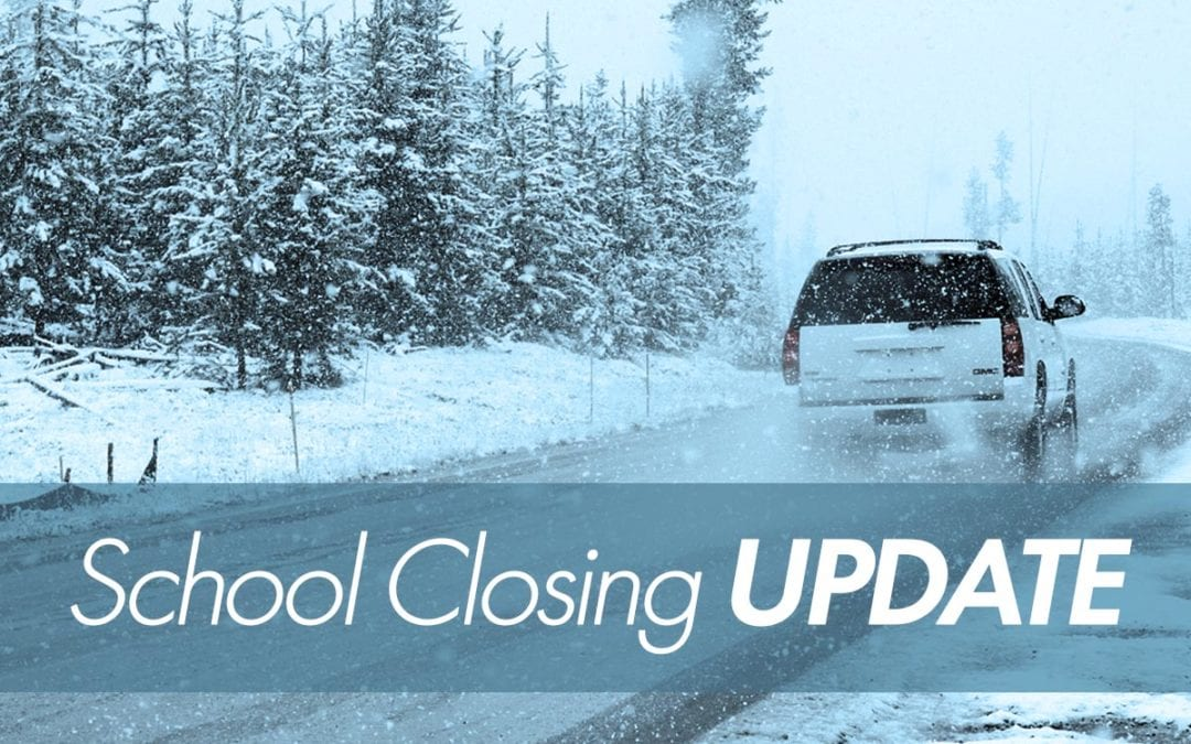 School closings/delays 12/17