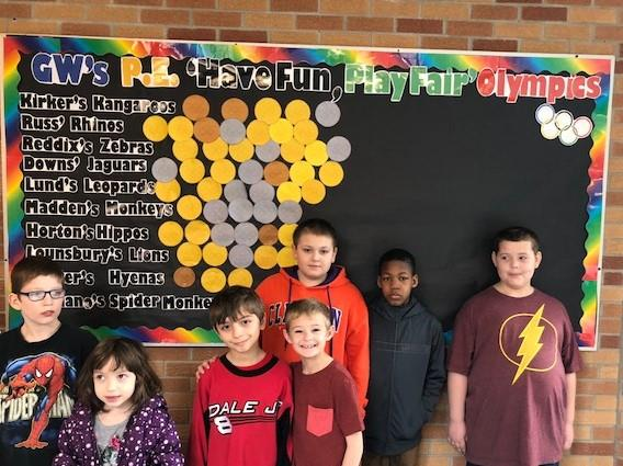News from George Washington School: March 2018