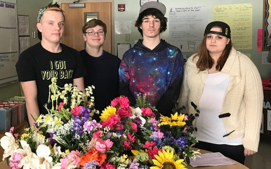 Sackett Freshmen give back