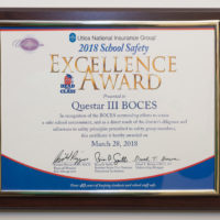 Questar III earns safety award for 10th year
