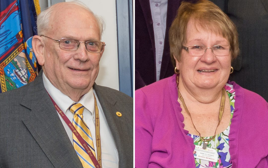 Hill, Noonan re-elected as board leaders