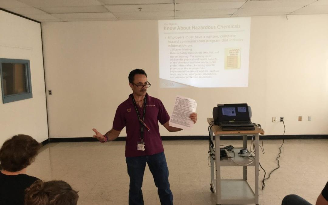 CGEC Students To Earn OSHA Certification