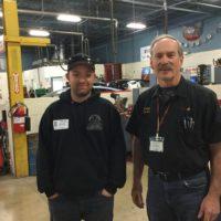 Auto Tech grad returns to share his story