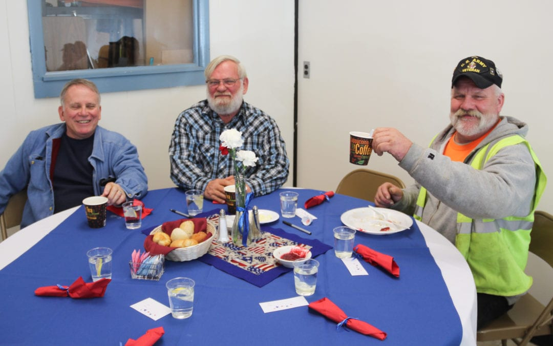 CTE students host annual Veterans Day Lunch