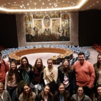 New Visions students visit NYC hospital, UN