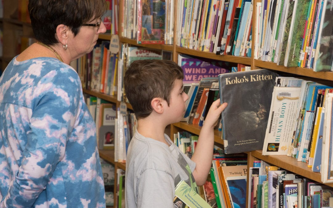 Library opens at George Washington School