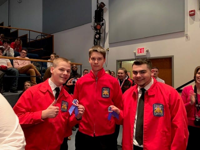 CTE students at SkillsUSA: champions at work!