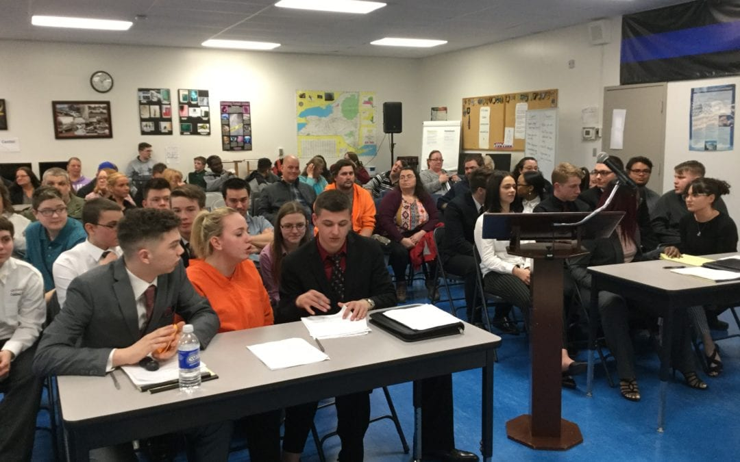 Mock trial prepares students for the future