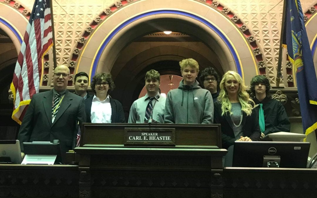 Sackett students learn and grow through Capitol visit