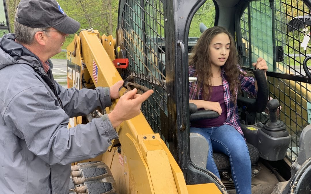 Heavy Equipment program goes on the road