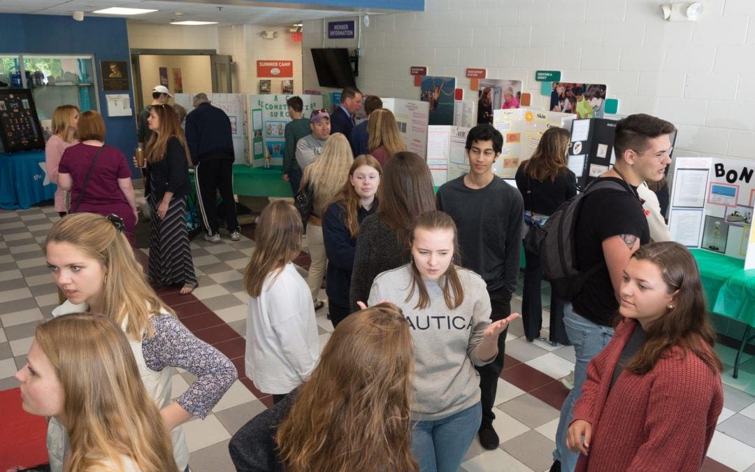 New Visions students host medical science fair