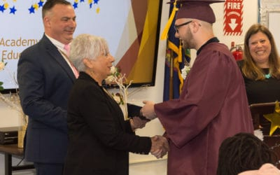 Three seniors graduate from the Academy at REC