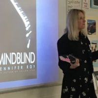 Career Academy students discuss neurodiversity with author