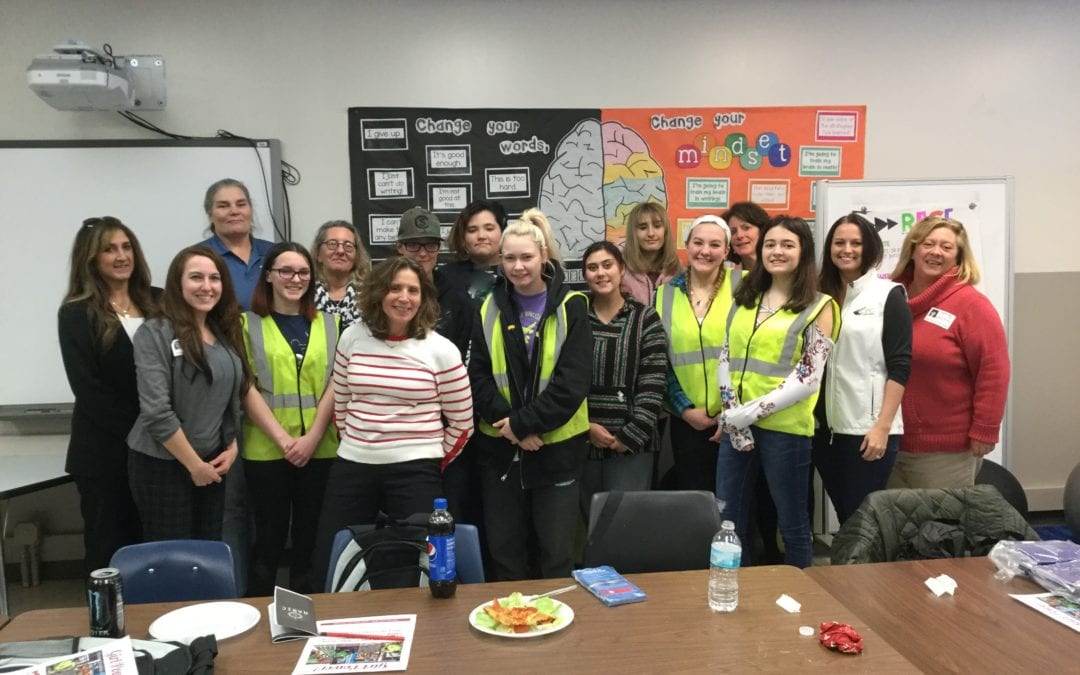 Women in construction offer mentor advice to students