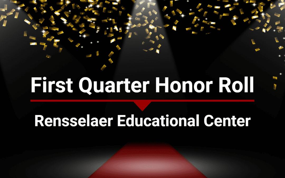 REC announces first quarter honor roll